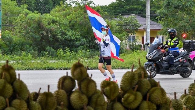 ขบวนวิ่งธงชาติ